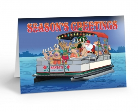 Boating Christmas Cards & Nautical Holiday Cards