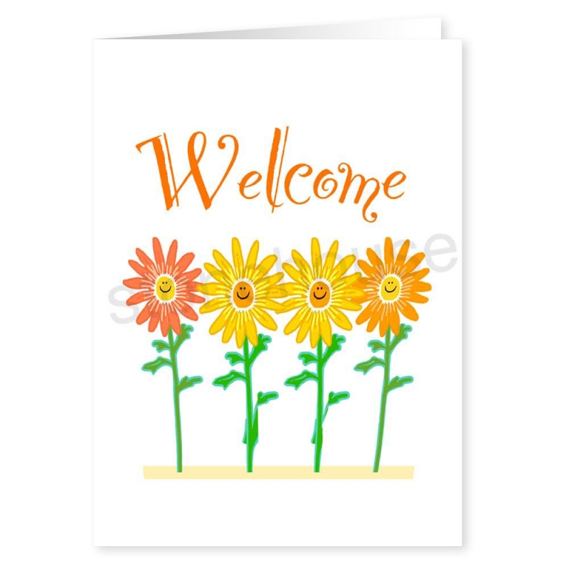 Stonehouse Collection: Welcome to the Company - Business Greeting Card